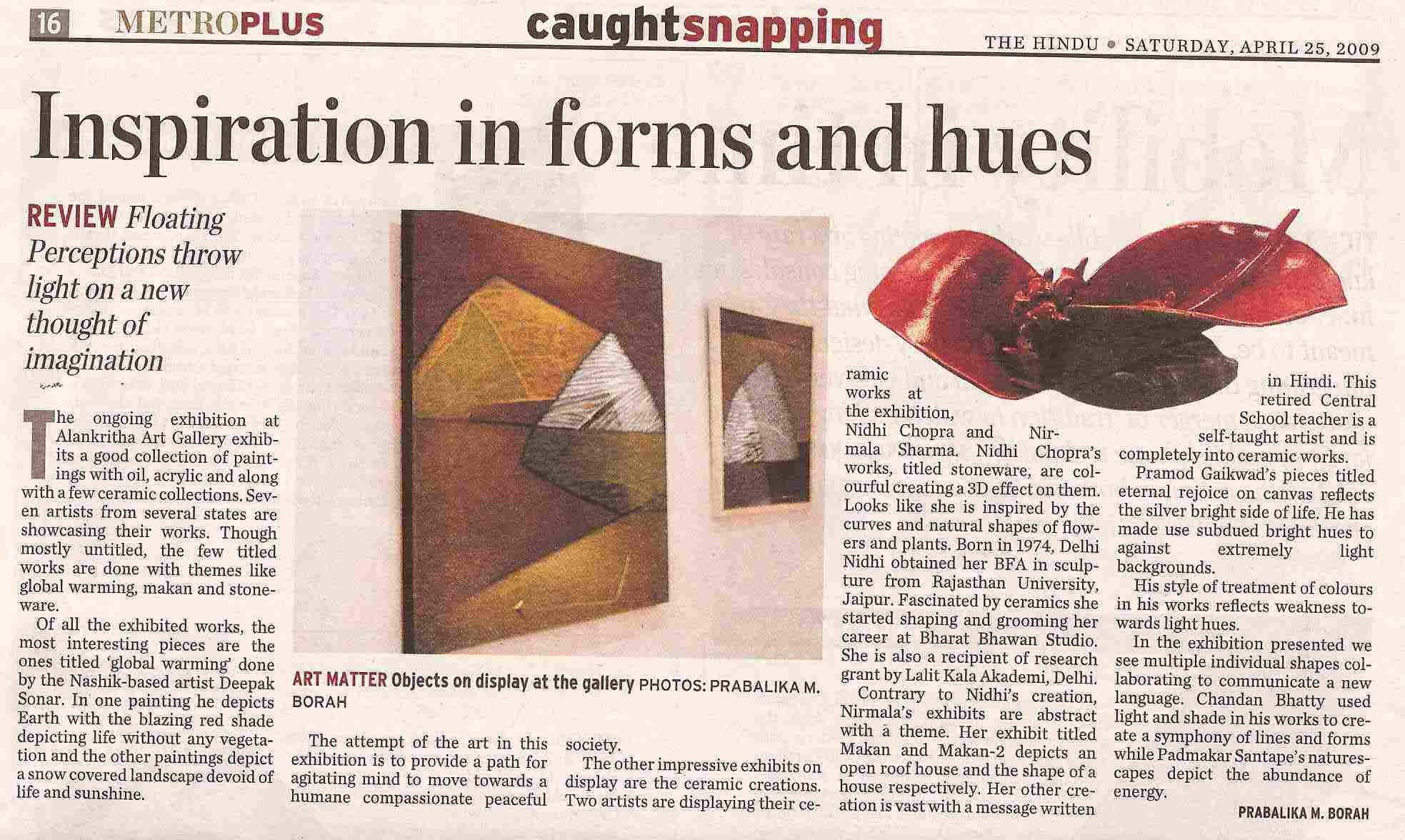 2009 Apr 5 The Hindu