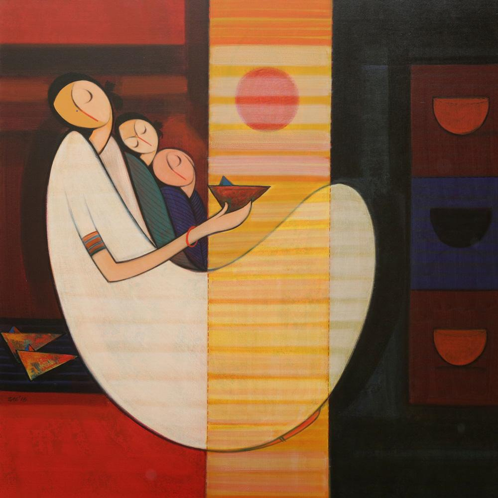. Modern Art Gallery   Painting Exhibition   Contemporary India Art
