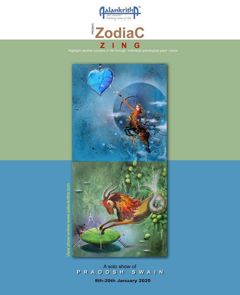 ZINC - A Solo show of Pradosh Swain